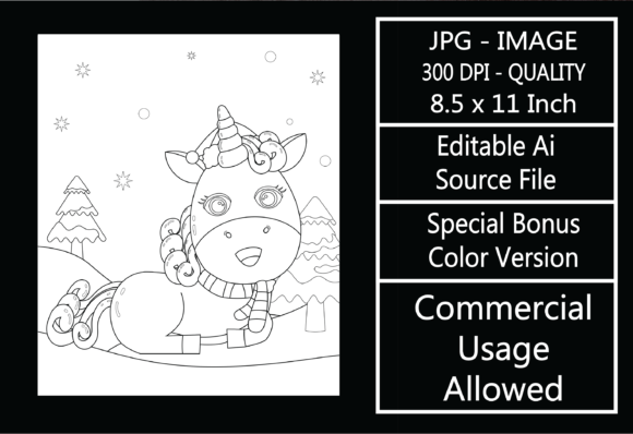 Print on Demand: Coloring Page for Kids - Christmas - 18 Graphic KDP Interiors By design-world