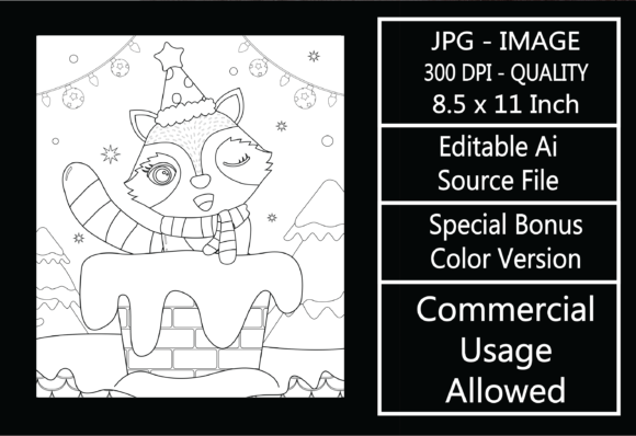 Print on Demand: Coloring Page for Kids - Christmas - 21 Graphic KDP Interiors By design-world
