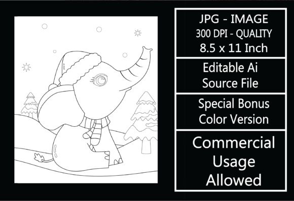 Print on Demand: Coloring Page for Kids - Christmas - 27 Graphic KDP Interiors By design-world