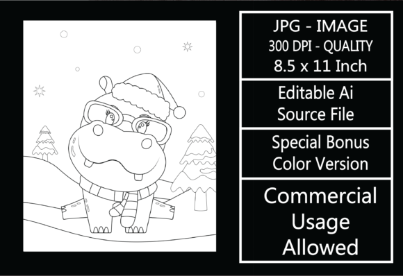 Print on Demand: Coloring Page for Kids - Christmas - 29 Graphic KDP Interiors By design-world