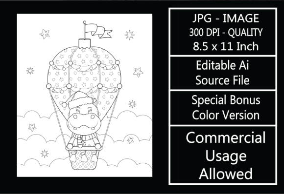 Print on Demand: Coloring Page for Kids - Christmas - 31 Graphic KDP Interiors By design-world