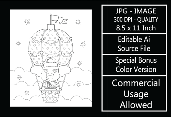 Print on Demand: Coloring Page for Kids - Christmas - 32 Graphic KDP Interiors By design-world