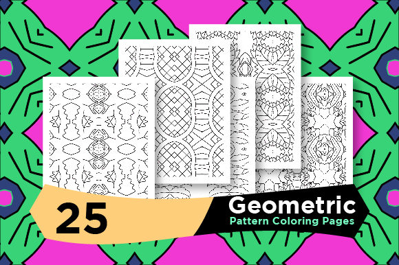 Print on Demand: Coloring Pages Pattern Graphic Coloring Pages & Books Adults By Riduwan Molla