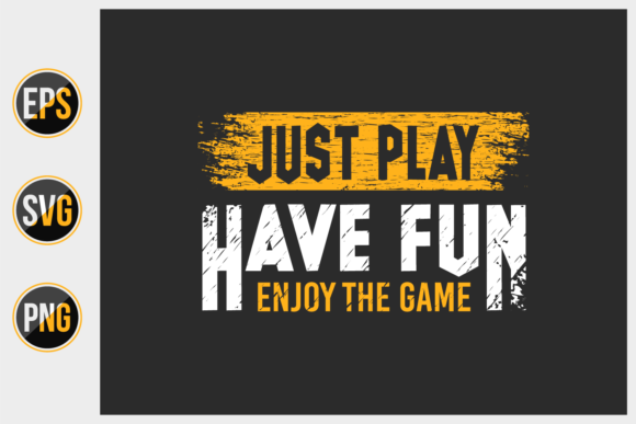 Print on Demand: Gaming Typographic Quotes Design Vector. Graphic Print Templates By ajgortee