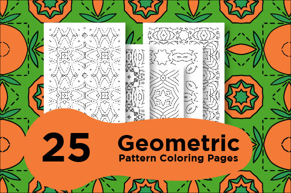 Print on Demand: Geometric Pattern Pages Graphic Coloring Pages & Books Adults By Riduwan Molla