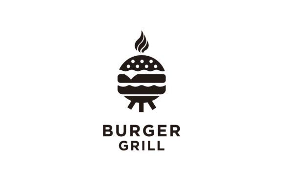 Grilled Patty Cheese Burger Kettle Logo Graphic Logos By sore88