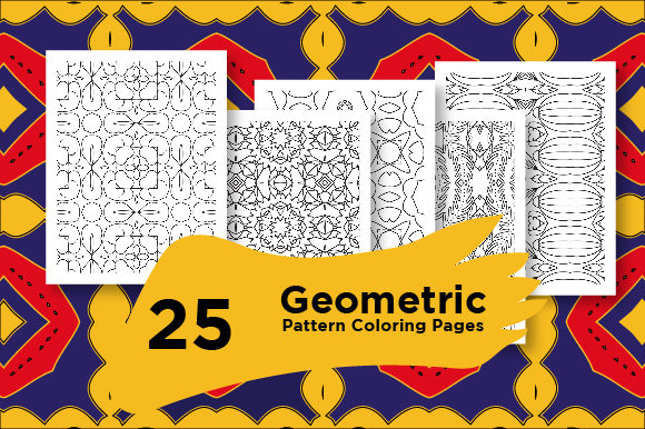 Print on Demand: KDP Coloring Pages Pattern Set Graphic Coloring Pages & Books Adults By Riduwan Molla