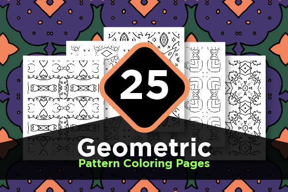 Print on Demand: Pattern Background Set Graphic Coloring Pages & Books Adults By Riduwan Molla