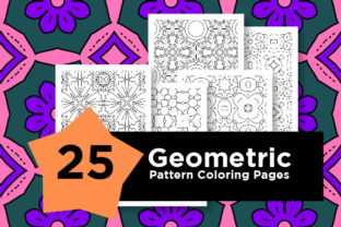 Print on Demand: Pattern Set Graphic Coloring Pages & Books Adults By Riduwan Molla