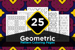 Print on Demand: Pattern with High Quality Sharp Lines Graphic Coloring Pages & Books Adults By Riduwan Molla