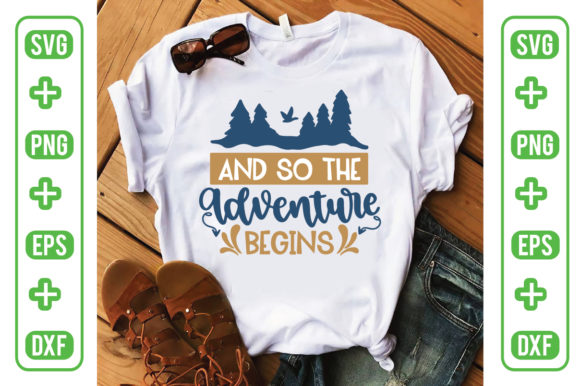 And so Adventure Begins Graphic Crafts By Printable Store