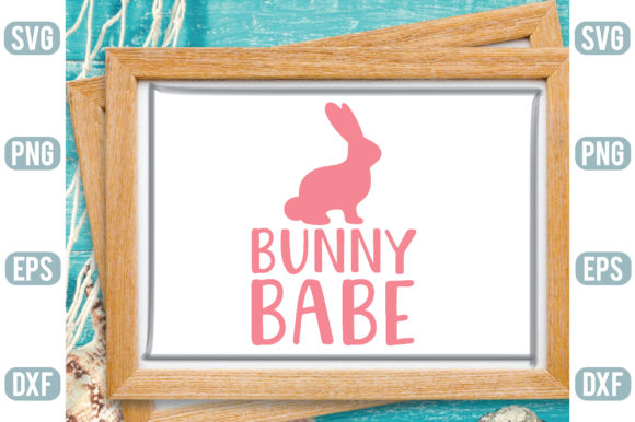Bunny Babe Graphic Crafts By Printable Store