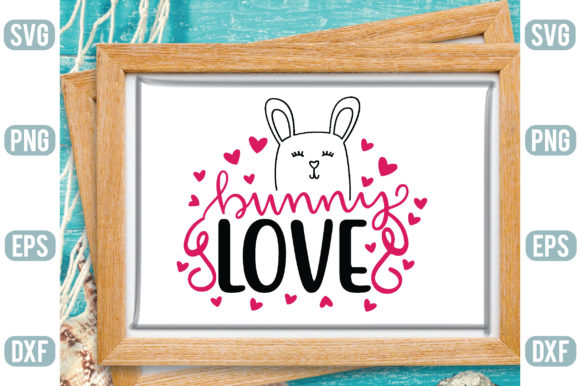 Bunny Love Graphic Crafts By Printable Store