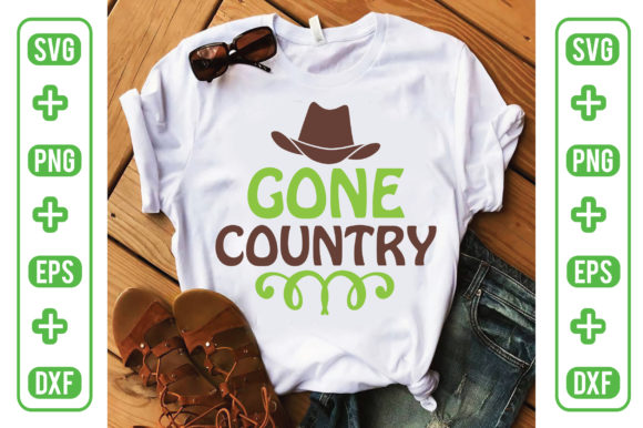 Gone Country Graphic Crafts By Printable Store