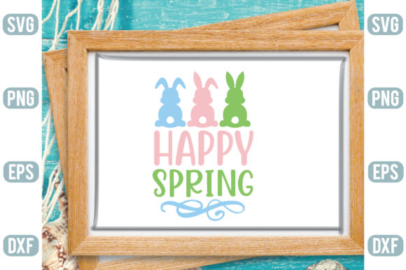 Happy Spring Graphic Crafts By Printable Store