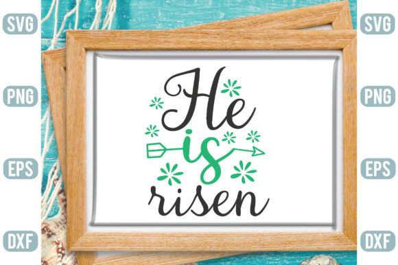 He is Risen Graphic Crafts By Printable Store