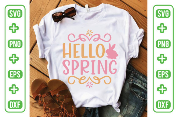 Hello Spring Graphic Crafts By craftstore