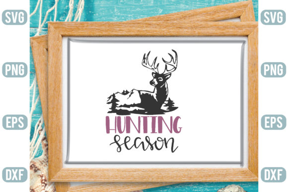Hunting Season Graphic Crafts By Printable Store