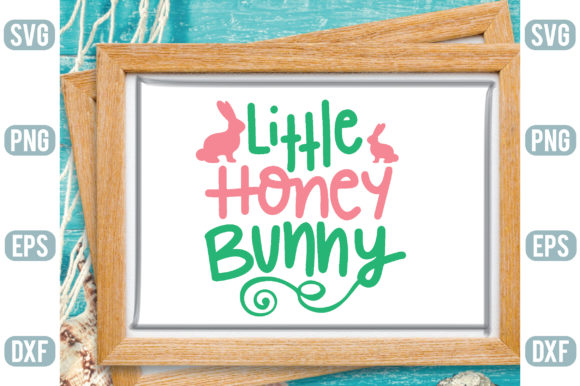Little Honey Bunny Graphic Crafts By Printable Store
