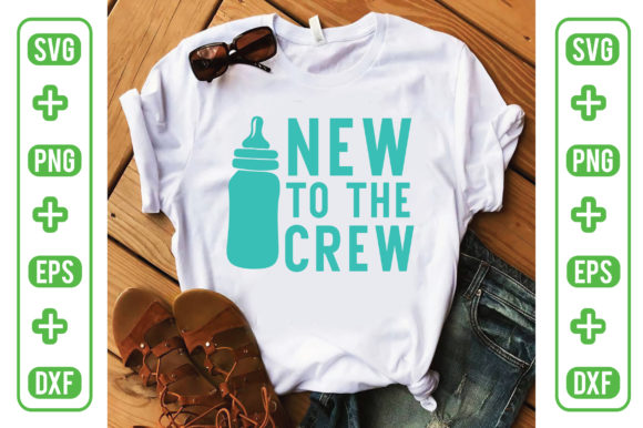 New to the Crew Graphic Crafts By Printable Store