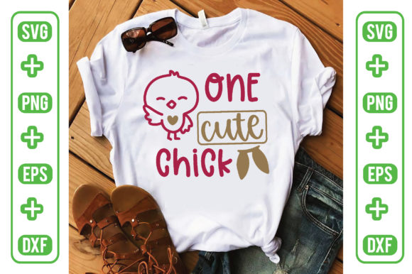 One Cute Chick Graphic Crafts By craftstore