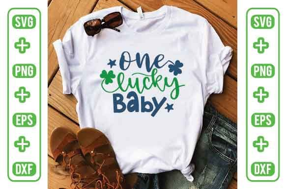One Lucky Baby Graphic Crafts By Printable Store