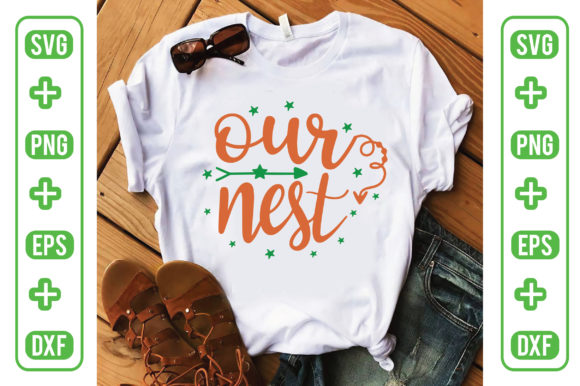 Our Nest Graphic Crafts By Printable Store