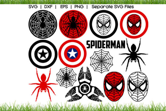 Spiderman Logo SVG Cut Files Graphic Crafts By VectorSVGFormet