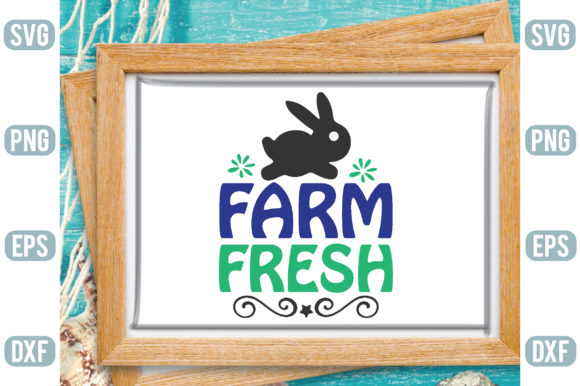Farm Fresh Graphic Crafts By Printable Store