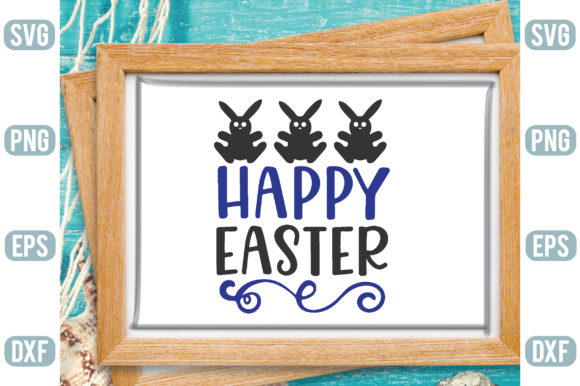 Happy Easter Graphic Crafts By Printable Store