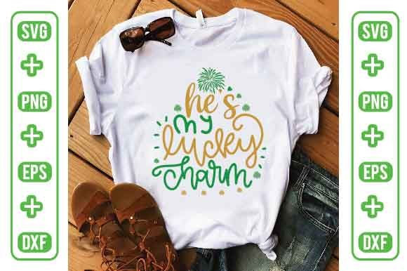 He's My Lucky Charm Graphic Crafts By Printable Store