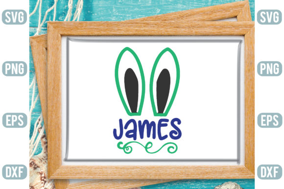 James Graphic Crafts By Printable Store