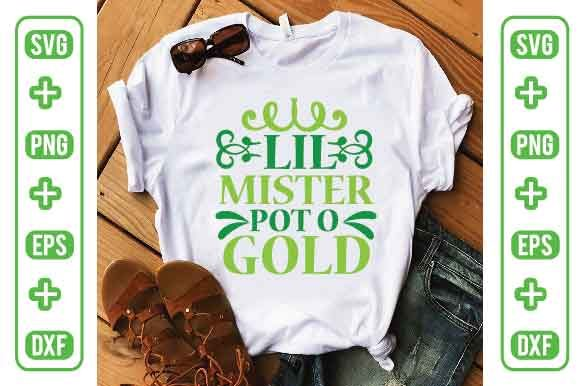 Lil Mister Pot O Gold Graphic Graphic Templates By Printable Store