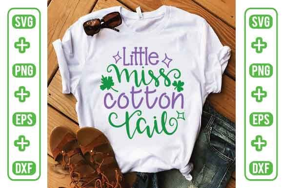 Little Miss Cotton Tail Graphic Crafts By Printable Store