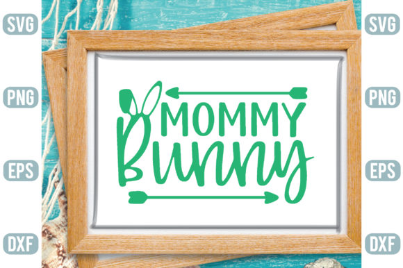 Mommy Bunny Graphic Crafts By Printable Store