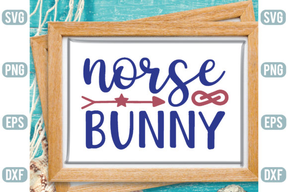 Norse Bunny Graphic Crafts By Printable Store