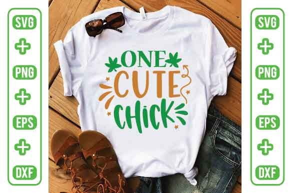 One Cute Chick Graphic Crafts By Printable Store