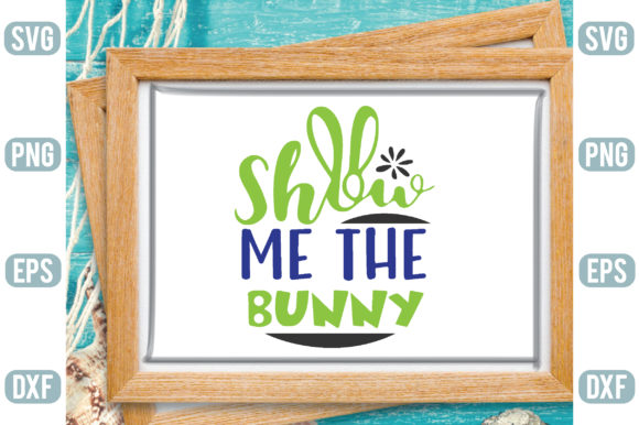 Show Me the Bunny Graphic Crafts By Printable Store