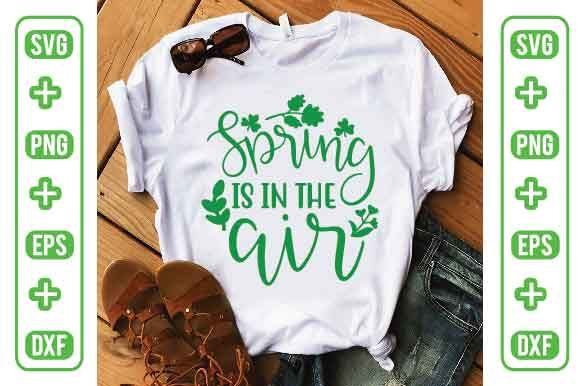 Spring is in the Air Graphic Illustrations By Printable Store