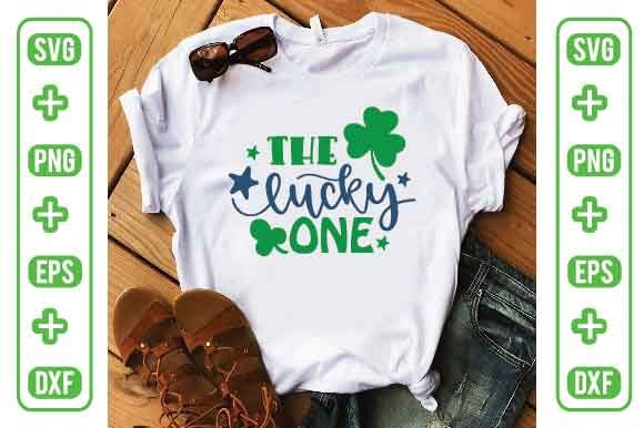 The Lucky One Graphic Illustrations By Printable Store