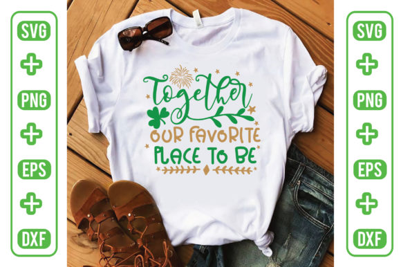 Together Our Favorite Place to Be Graphic Illustrations By Printable Store