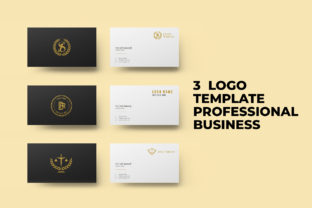 Print on Demand: 3 Logo Template Professional Business Graphic Logos By Chococreator