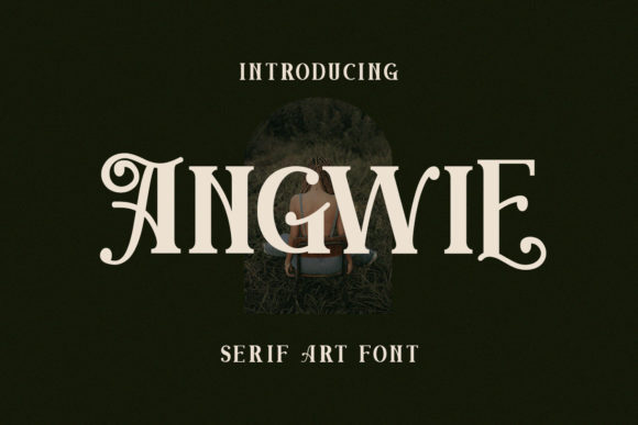 Print on Demand: Angwie Serif Font By Maulana Creative