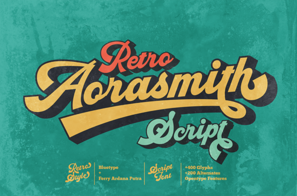 Print on Demand: Aorasmith Display Font By bluetype