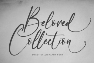 Print on Demand: Beloved Collection Script & Handwritten Font By alphArt