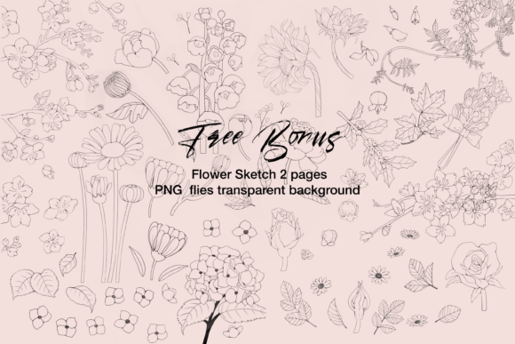 Bullet Journal Planner 2021 KDP Interior Graphic Preview