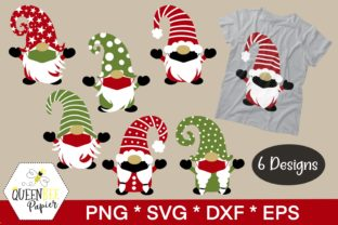 Print on Demand: Christmas Gnomes Graphic Crafts By Queen Bee Papier