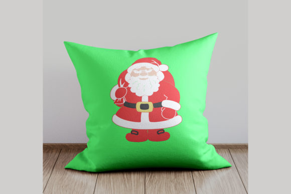 Christmas Santa Embroidery Download
