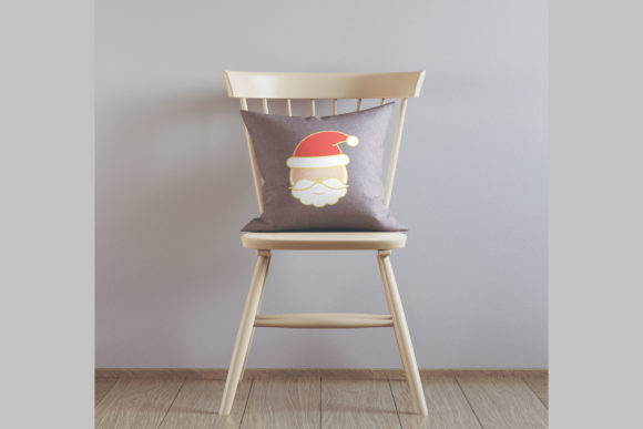 Christmas Santa Face Embroidery Download
