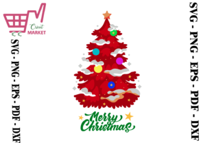 Print on Demand: Christmas Tree Graphic Crafts By Cricut Market